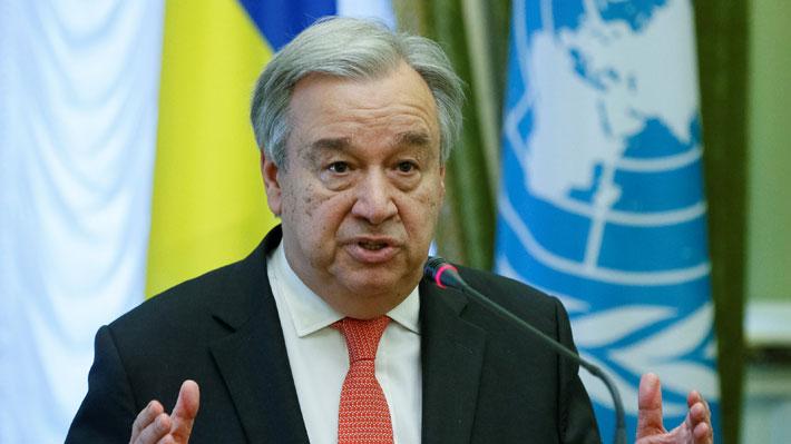 """Secretario general de la ONU """"está siguiendo con creciente preocupación la escalada de tensiones en Venezuela"""""""