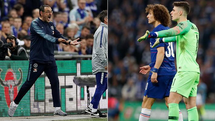 Enorme polémica: Arquero del Chelsea se negó a ser reemplazado y provocó la furia de su técnico