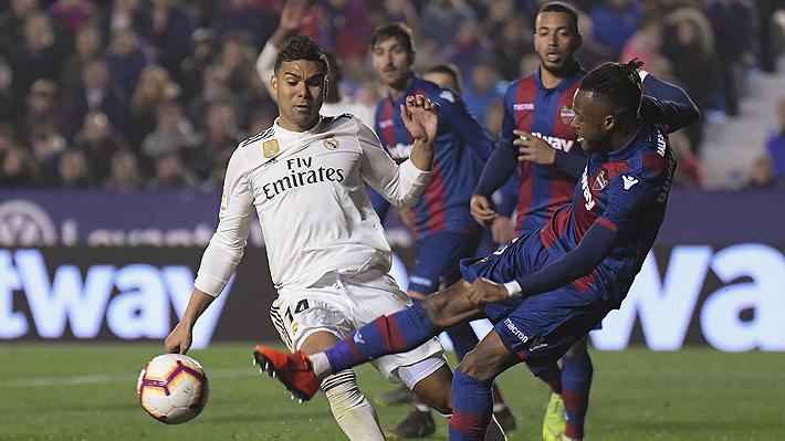 El controvertido penal que le cobraron al Real Madrid y que terminó dándole la victoria por la Liga
