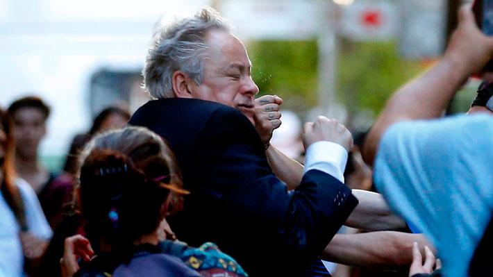Agresión al presidente del TC: Manifestantes formalizadas no podrán acercarse al ministro Aróstica