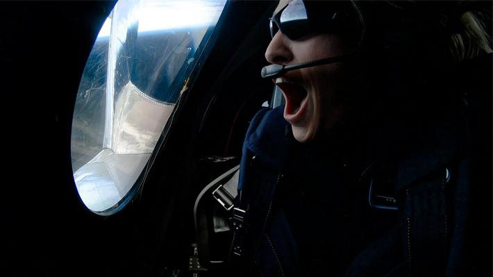 Video: Observa cómo fue el vuelo de la primera turista espacial en una nave de Virgin Galactic