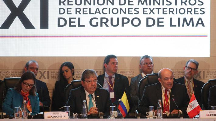 """Grupo de Lima inicia cumbre asegurando que no tiene una """"posición intransigente"""" ante la crisis venezolana"""