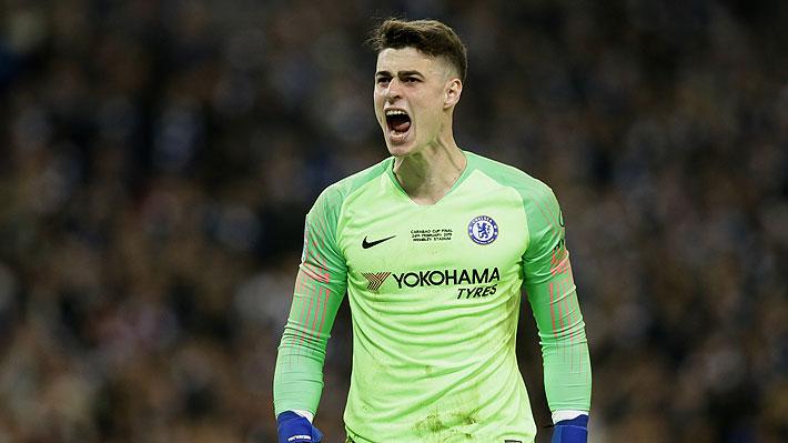 Chelsea decide sancionar a arquero que protagonizó enorme polémica con su DT en la final de la Copa de la Liga