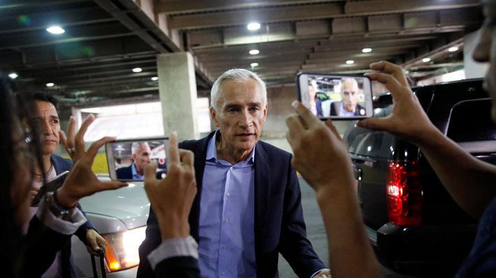 Jorge Ramos, el periodista mexicano retenido por Maduro y que se ha enfrentado a varios líderes mundiales
