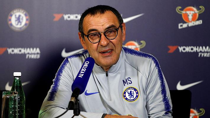 Sarri dio detalles de la multa a Kepa y habló de las disculpas que el arquero ofreció al plantel del Chelsea