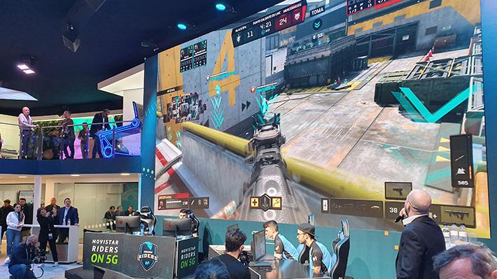 MWC: Competir en videojuegos sobre redes móviles podría ser una realidad cuando lleguen las redes 5G