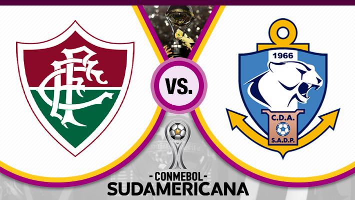 Repase el notable empate que rescató Antofagasta ante Fluminense por la Sudamericana