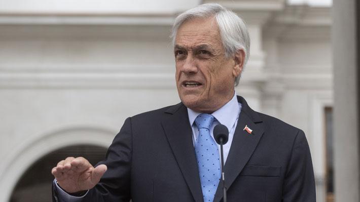 """Presidente Piñera por crisis en Venezuela: """"No basta con condenar violencia y pedir solución pacífica"""""""