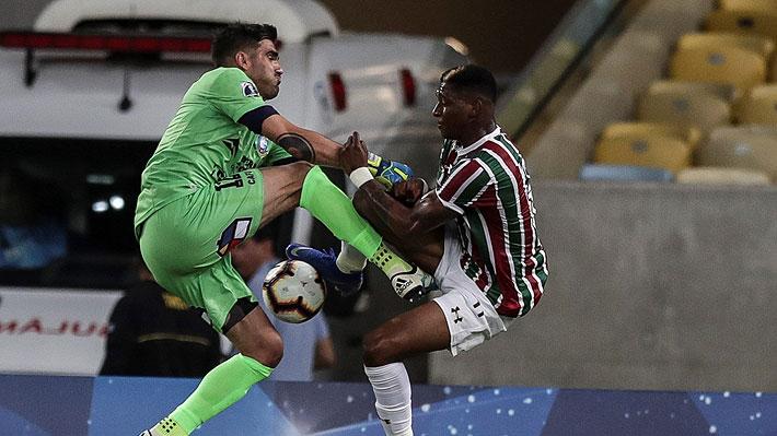 Con el portero Hurtado como figura, Antofagasta rescató un notable empate en Brasil ante Fluminense por la Sudamericana