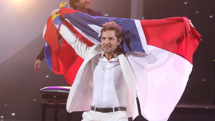 David Bisbal cantó, bailó y se llevó los máximos galardones con un show de éxitos en Viña 2019