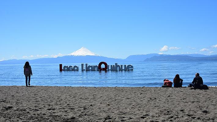 Turista extranjera desparece en lago Llanquihue tras sufrir accidente en moto de agua
