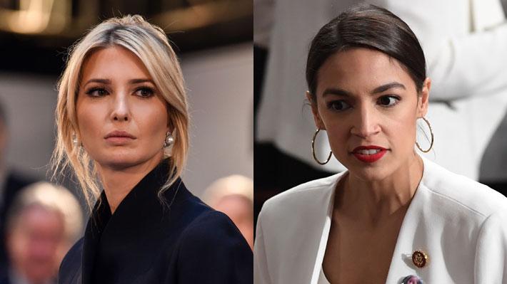 Ivanka Trump y Alexandria Ocasio-Cortez protagonizan round sobre el sueldo mínimo en EE.UU.