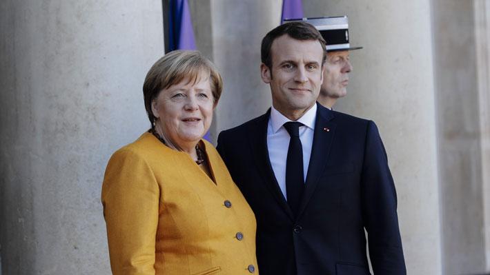"""Macron y Merkel aceptarán aplazar el Brexit sólo si hay una """"perspectiva clara"""""""