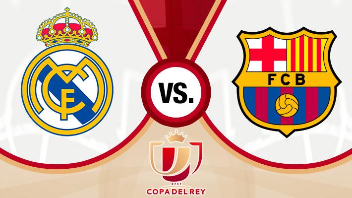 Revive la goleada del Barcelona de Arturo Vidal ante el Real Madrid