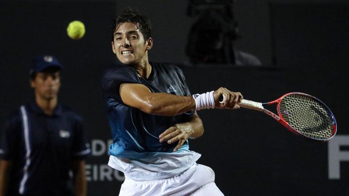 Christian Garin llega por primera vez a cuartos de un torneo ATP y será desde el lunes el nuevo número uno de Chile