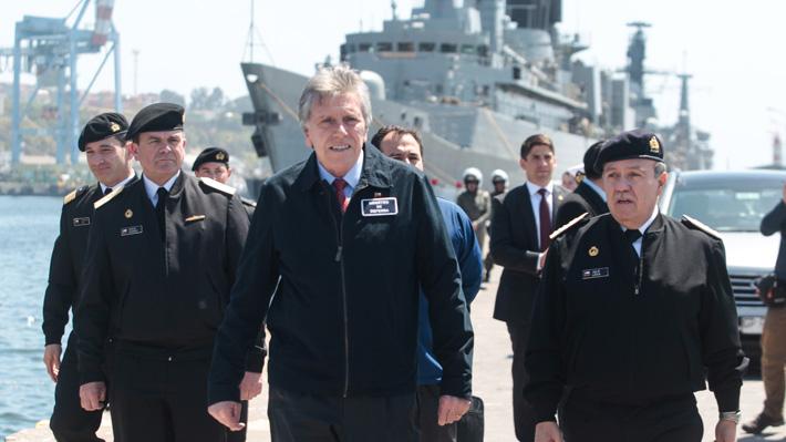 """Ministro de Defensa por dictamen judicial que obliga a la Armada a entregar información sobre viajes: """"Tienen que hacerlo"""""""