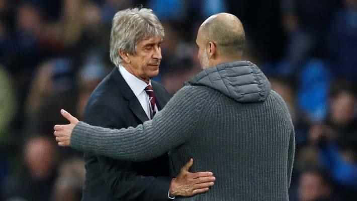 El Manchester City dominó y derrotó por la mínima a una floja versión del West Ham de Pellegrini