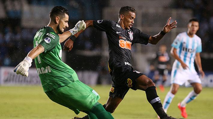 Con Gabriel Arias en cancha, Racing cae en definición por penales ante Corinthians y queda eliminado de la Sudamericana
