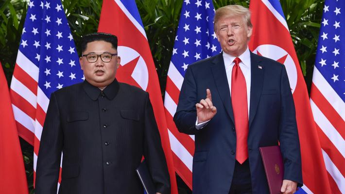 """Donald Trump: """"No tengo prisa"""" en llegar a un acuerdo nuclear con Kim Jong-un"""