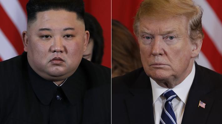 Trump dice que se retiró de cumbre con Kim porque le pidió levantar sanciones