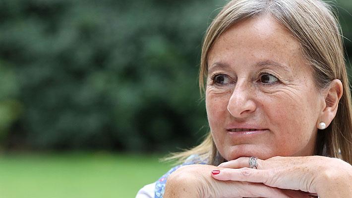 Cecilia Pérez informa fallecimiento de ex ministra del Medio Ambiente María Ignacia Benítez