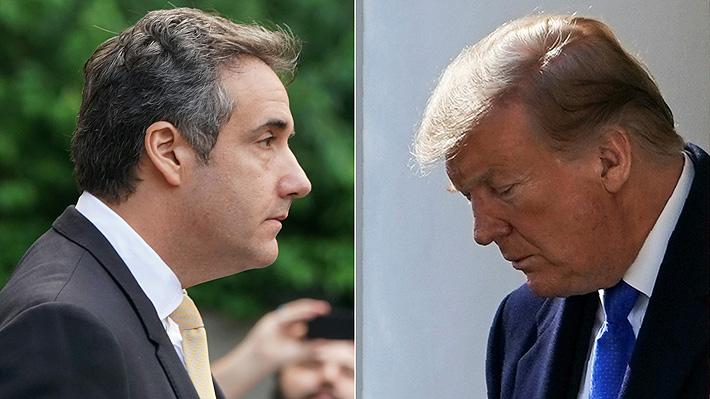 """Trump asegura que su ex abogado """"mintió mucho"""" en comparecencia ante el Congreso"""