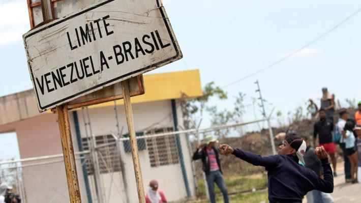 Muere un ciudadano venezolano herido en los enfrentamientos en la frontera con Brasil