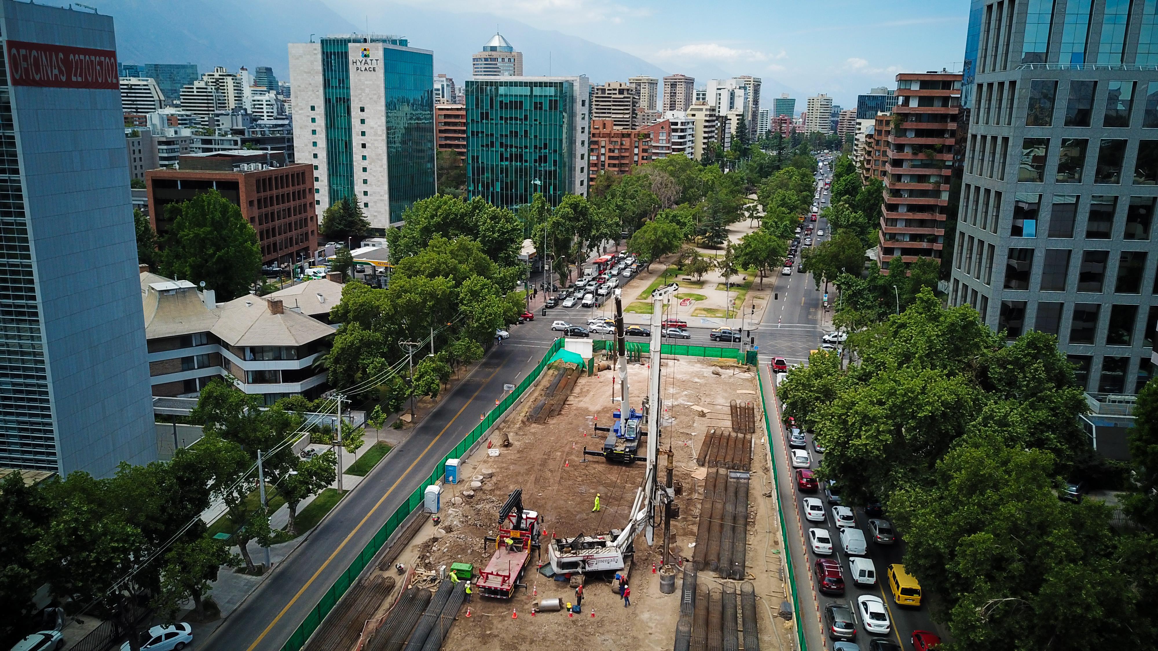 """Obras en Vespucio: MOP advierte """"aumento fuerte de la congestión"""" y pide a usuarios buscar rutas alternativas"""