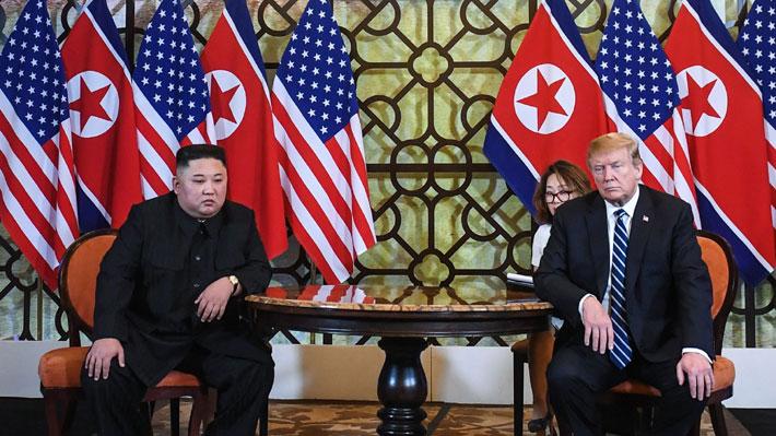 Gobierno de Corea del Norte desmiente a Trump y asegura que sólo pidieron aliviar las sanciones