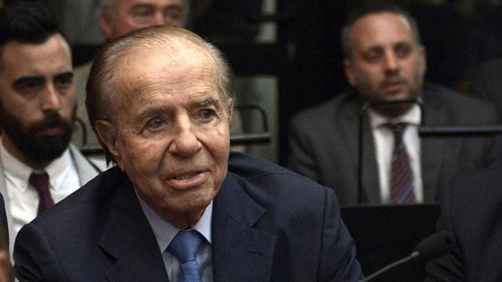 Justicia argentina absuelve a Carlos Menem en juicio por encubrimiento de atentado a la AMIA