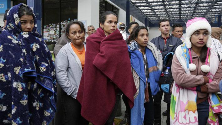 Legisladores de Estados Unidos presentan proyecto para dar protección a migrantes venezolanos
