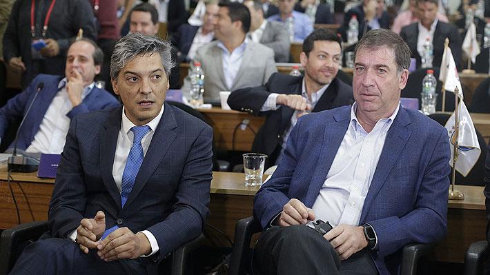"""Andrés Fazio habría renunciado a la ANFP por diferencias con Moreno y esto destaparía un """"quiebre"""" en el directorio"""