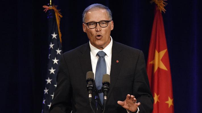 Gobernador del estado de Washington entra a la pelea por la carrera presidencial de EE.UU.