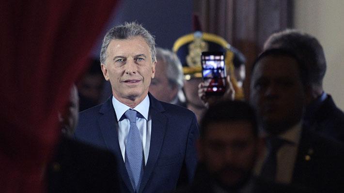 """Macri en su último discurso ante el Congreso argentino: """"Se está acabando la impunidad"""""""