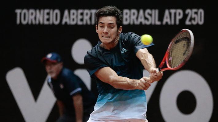 Mira el punto final con el que Christian Garin alcanzó en Sao Paulo el mejor resultado de su carrera