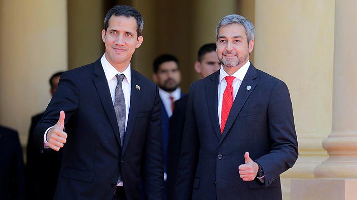 """Guaidó anuncia más protestas en Venezuela hasta lograr """"una democracia fuerte y en libertad"""""""