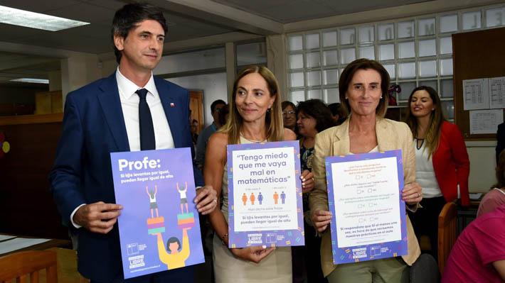 Mineduc lanza campaña que fomenta una educación no sexista en las salas de clases