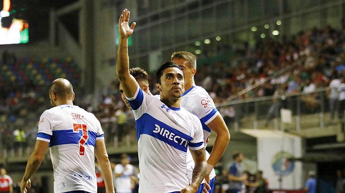 La UC gana con golazos de Edson Puch y Carlos Lobos a un descontrolado Audax Italiano que sufrió dos expulsiones