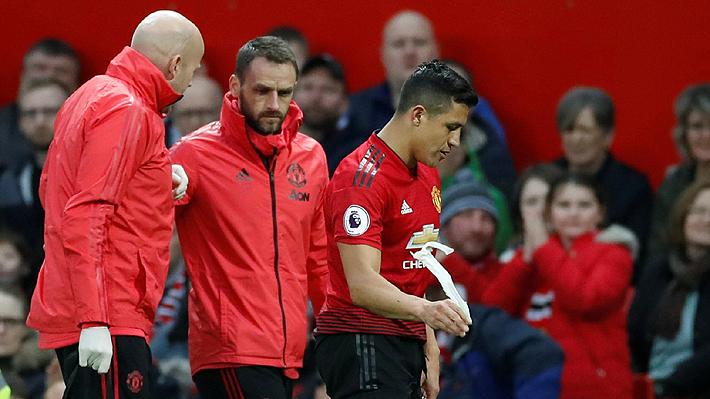 El United dio vuelta un partidazo y venció al Southampton, pero Alexis no brilló y salió lesionado