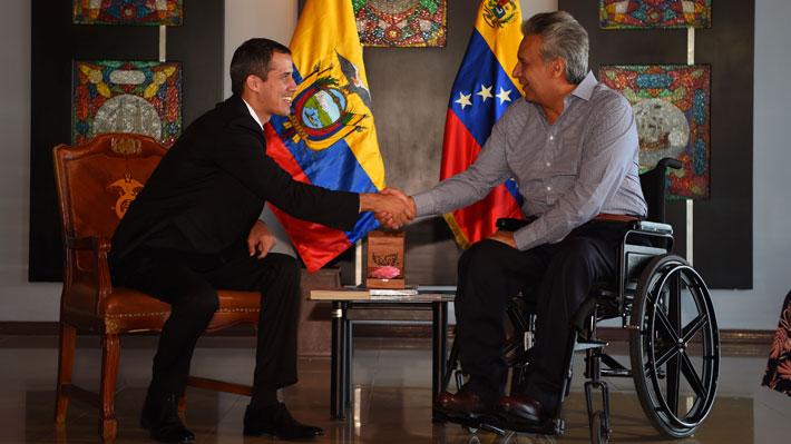Juan Guaidó anuncia su regreso a Venezuela desde Ecuador y convoca a movilizaciones el lunes y martes