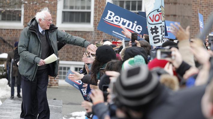 Bernie Sanders da inicio a su campaña para las primarias del partido Demócrata en EE.UU.