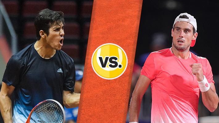 Así fue la derrota de Garin ante Pella en la final del ATP 250 de Sao Paulo
