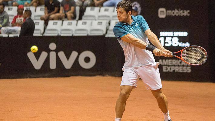 Christian Garin no puede ante la solidez de Guido Pella y cae en su primera final ATP