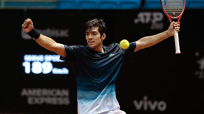 La ATP oficializa que Garin desplaza a Jarry en el ranking y es el nuevo número 1 de Chile
