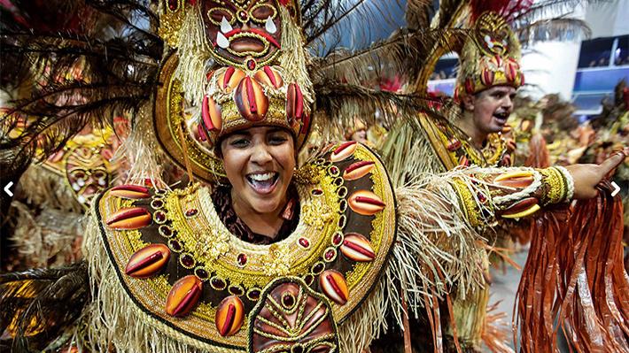 Galería: Revisa las mejores fotos del Carnaval de Sao Paulo