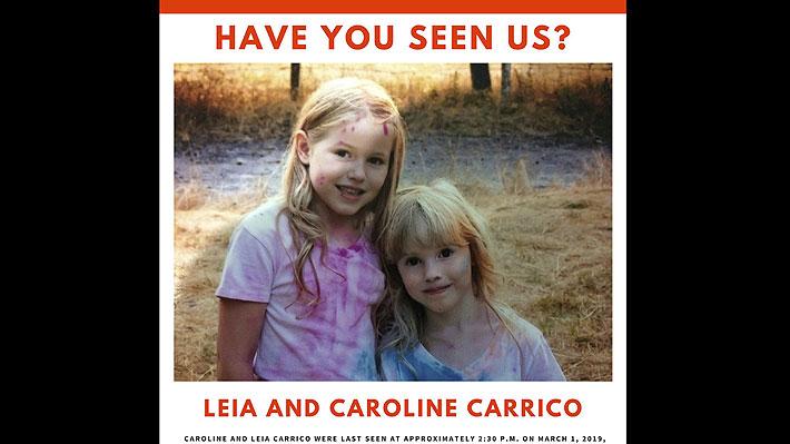 Hermanas de 8 y 5 años sobreviven 44 horas a la intemperie en una zona boscosa de EE.UU.