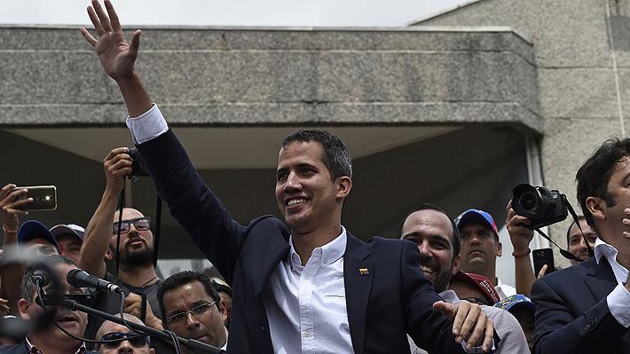 """Guaidó tras retornar a Venezuela: """"No nos van a detener a través de las amenazas"""""""