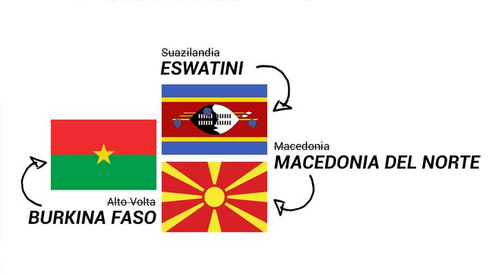 De Burkina Faso a eSwatini: Los países que han cambiado su nombre y que Filipinas podría imitar