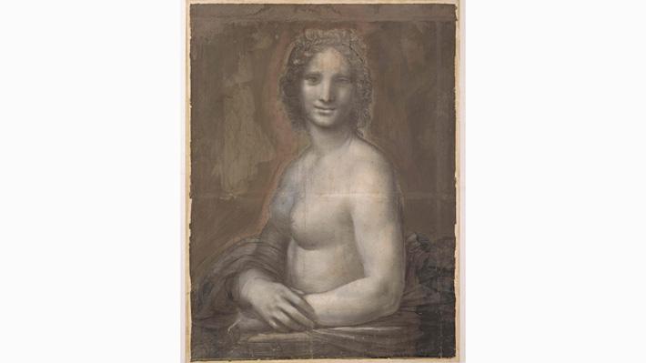 """Los nuevos elementos que sugieren que Da Vinci contribuyó en el dibujo de """"La Gioconda desnuda"""""""