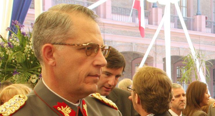 El detalle de los hechos que la ministra Rutherford le adjudicó al ex tesorero del Ejército